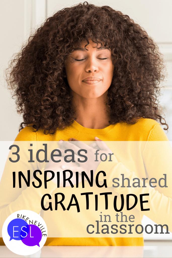 inspiring shared gratitude