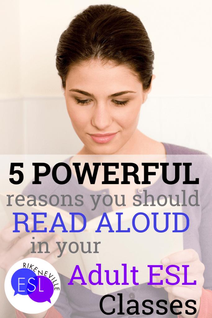 read aloud in adult esl classes