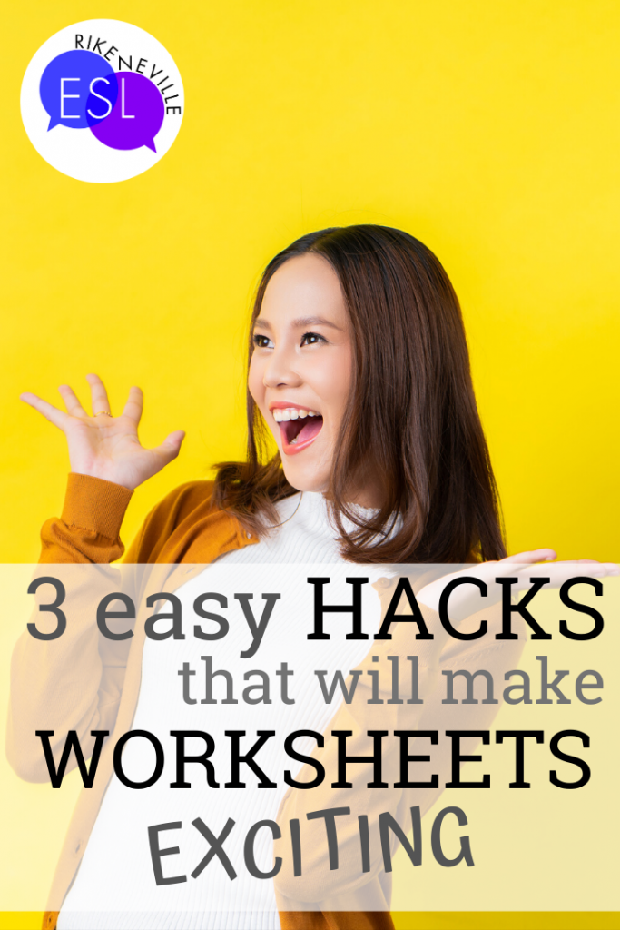 worksheets exciting three easy hacks