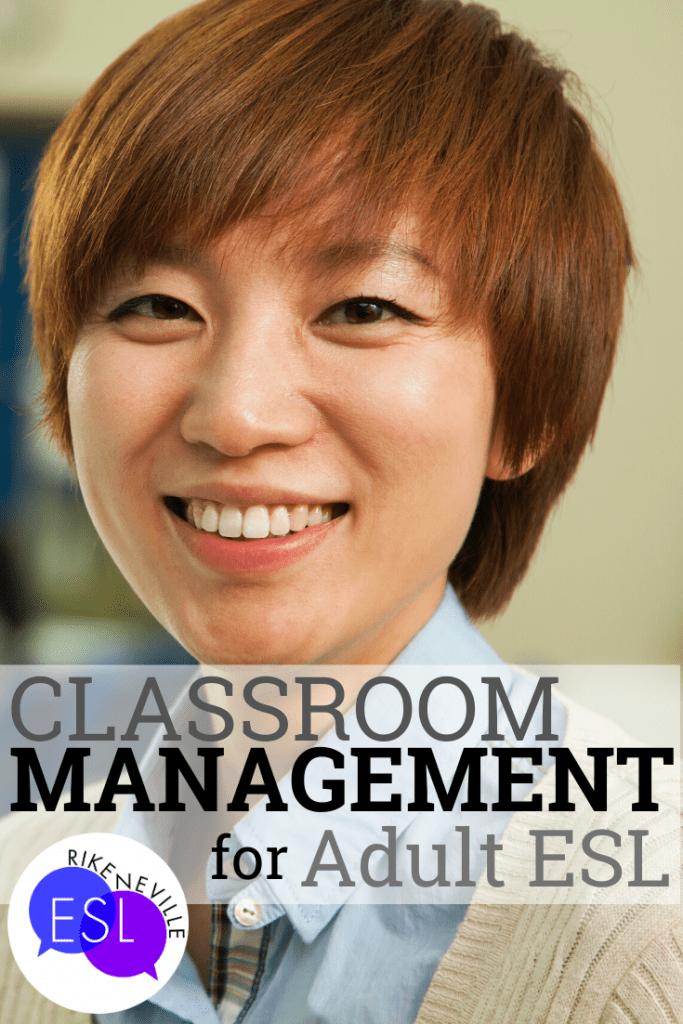 classroom management for adult ESL
